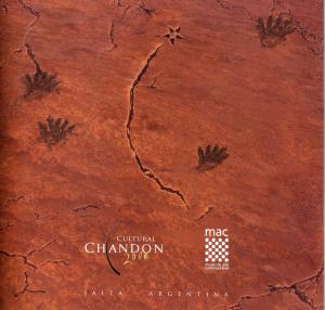 Catalogo Cultural Chandon 2006 tapa copia